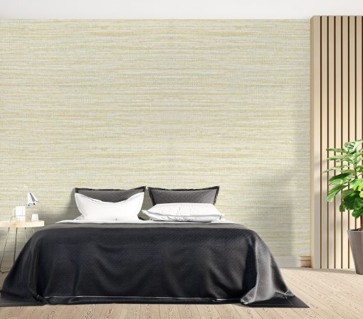 Wallcovering for a sunny atmosphere.