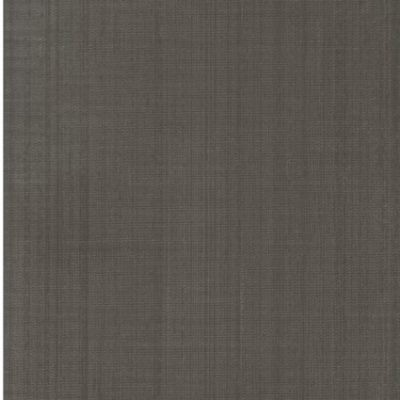 wallcovering with a dark earth tone color and horizontal silk texture.
